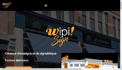 Site internet de Wipi Wipi Group