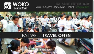 Site internet de Woko Holding
