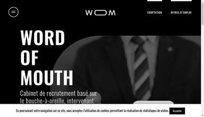 Site internet de Wom
