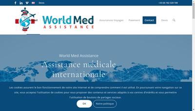 Site internet de World Med Assistance