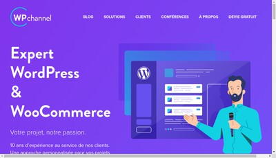 Site internet de Wp Channel