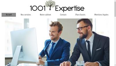 Site internet de 1001 Expertise