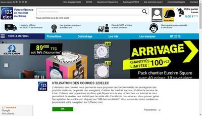 Site internet de 123Elec