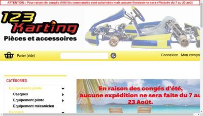 Site internet de Bn Karting
