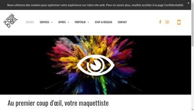 Site internet de Au Premier Coup d'Oeil