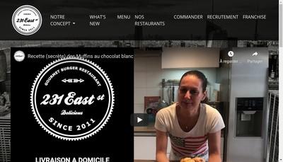 Site internet de 231 East Street