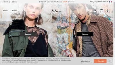 Site internet de Le Bon Marche Maison Aristide Boucicaut