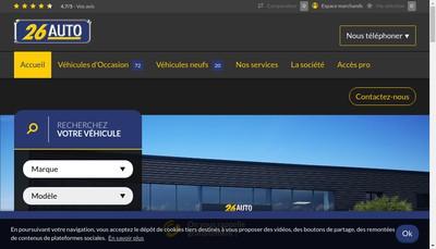 Site internet de 26 Auto