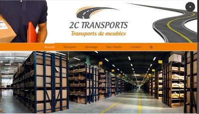 Site internet de 2C Transports