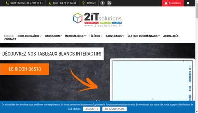 Site internet de Rhone Alpes Repro Informatique