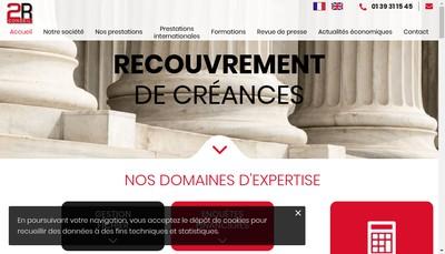 Site internet de 2R Conseil
