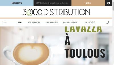 Site internet de SARL 3000 Distribution