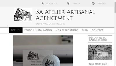 Site internet de Atelier Artisanal d'Agencements 3 a