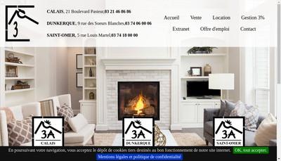Site internet de 3 a Immobilier