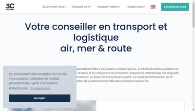 Site internet de 3 C Express