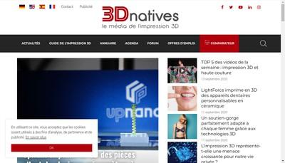 Site internet de 3Dnatives