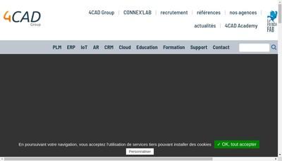 Site internet de 4 Cad Iot