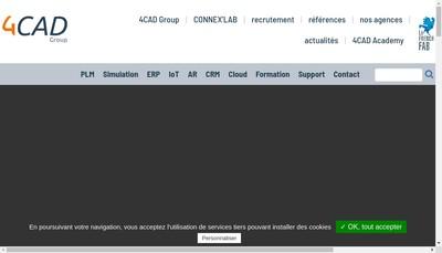 Site internet de 4 Cad Plm