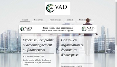 Site internet de 4Vadaudit