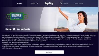 Site internet de Paris Premiere