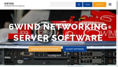 Site internet de 6 Wind