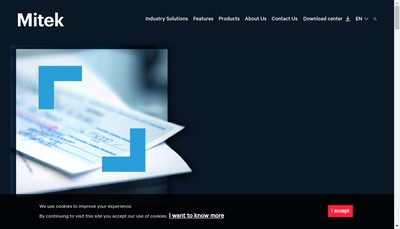 Site internet de Analyse Image Intelli Artific