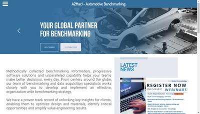 Site internet de A2Mac1 Europe