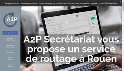 Site internet de A2P