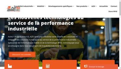 Site internet de Identit - A2Si Rfid