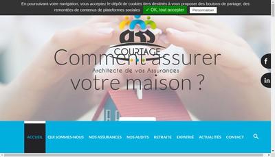 Site internet de A3S Courtage