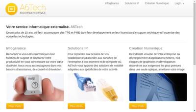 Site internet de Assistech SARL