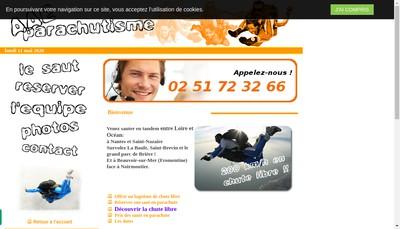 Site internet de Aae Parachutisme