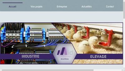 Site internet de Agri Agro Industrie Developpement