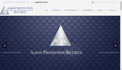 Site internet de Aaron Protection