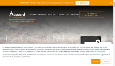 Site internet de Aasgard