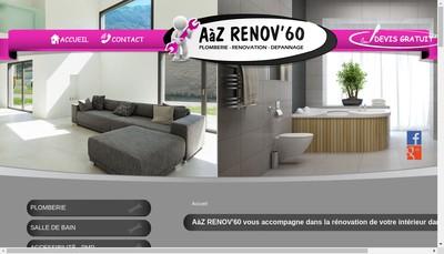 Site internet de Aaz Renov'60