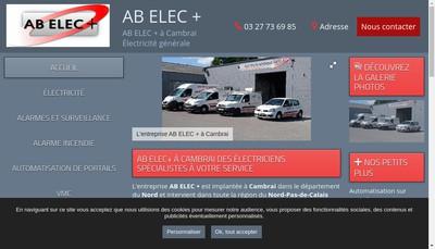 Site internet de Ab Elec +