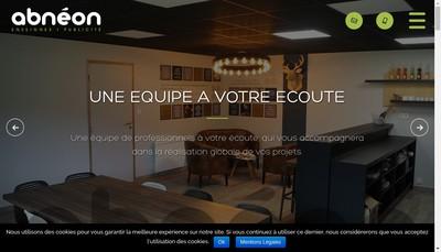 Site internet de Ab Neon