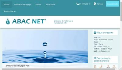 Site internet de Abac Net