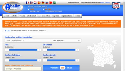 Site internet de Abafim