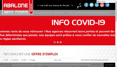 Site internet de Abalone Tt Landes