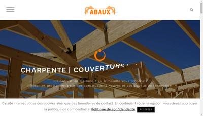 Site internet de SARL Abaux