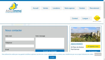 Site internet de Agence Guy Hoquet Guy Hoquet l'Immobilie