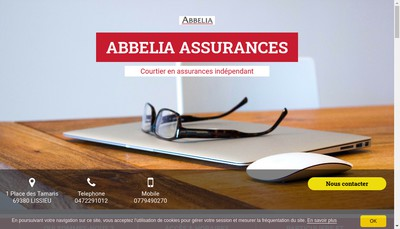 Site internet de Assurances Abbelia et Pochat-Baron