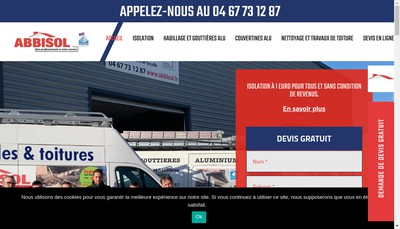 Site internet de Abbisol