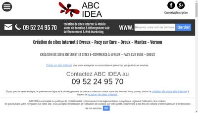 Site internet de Abc - Idea - Com