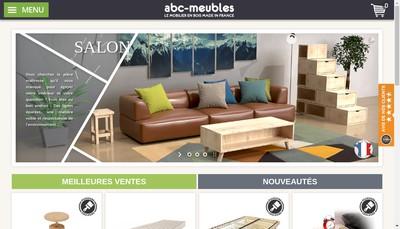 Site internet de Abc Meubles