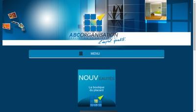Site internet de Abc Organisation