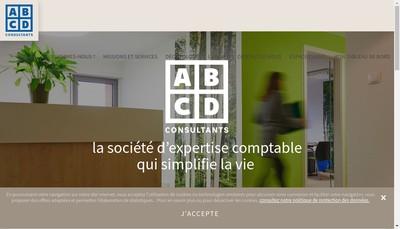 Site internet de Abcd Consultants