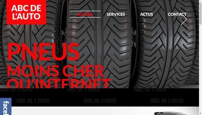 Site internet de Abc de l'Auto